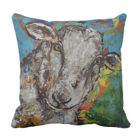 Sheep pillow #cushion #pillows #sheep #farmhousestyle #animals