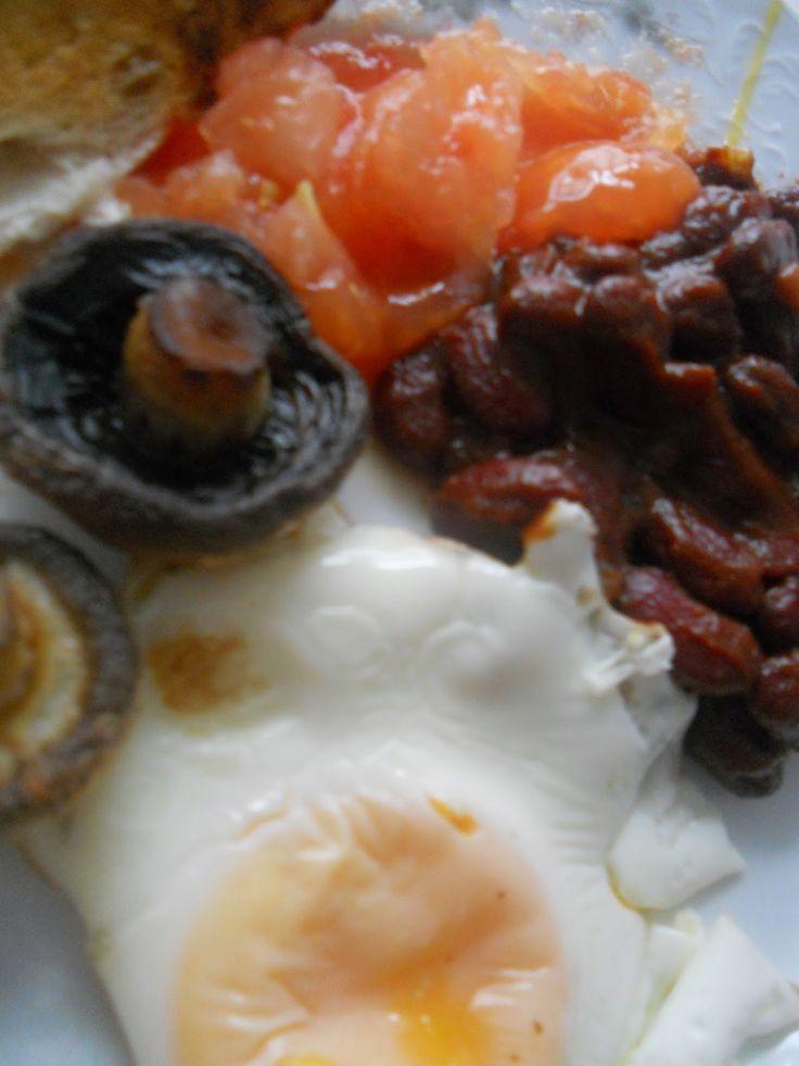 BEJBINKA: ANGLICKÁ SNÍDANĚ - vegetariánská