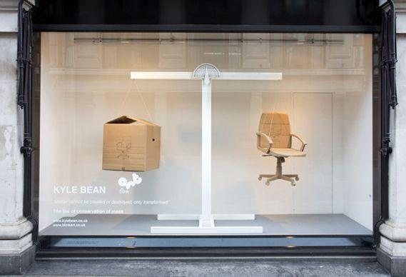Creative Review - Kyle Bean's Selfridges Windows