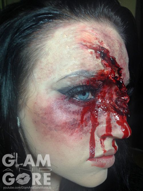 head trauma special effects makeup for more makeup looks and tutorials wwwinstagram - Halloween Effects Makeup