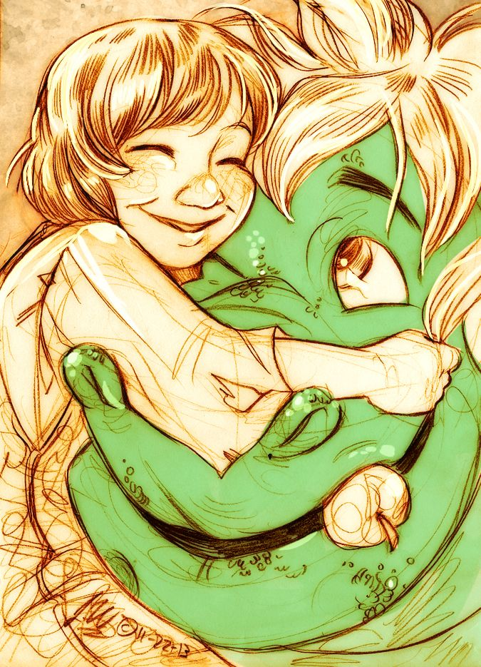 The Boy with the Dragon - This is from Pete's Dragon, one of my favorite but forgotten movies. JW
