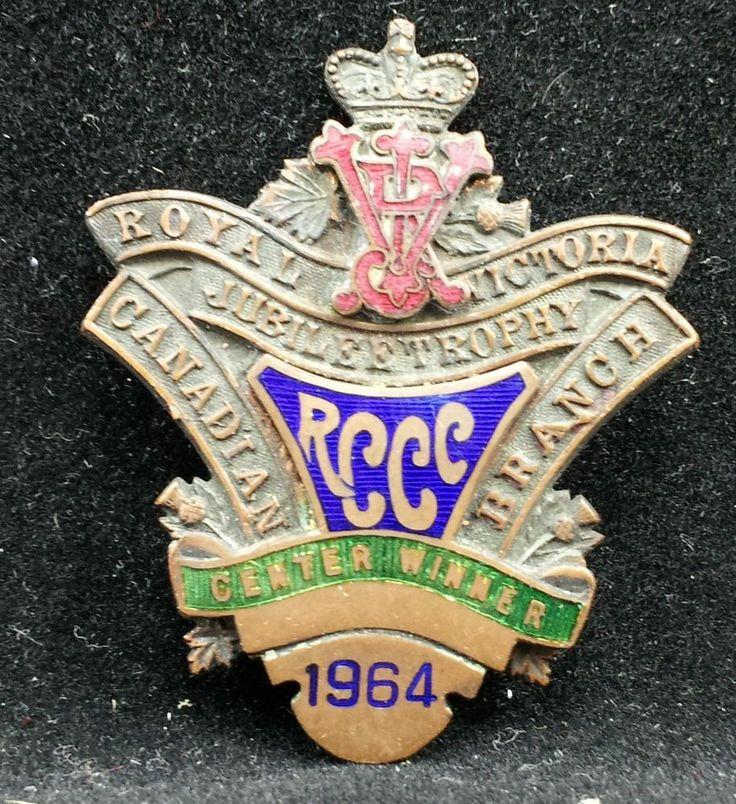 1964 RCCC Center Winner Curling Royal Victoria Jubilee Trophy Canadian Branch