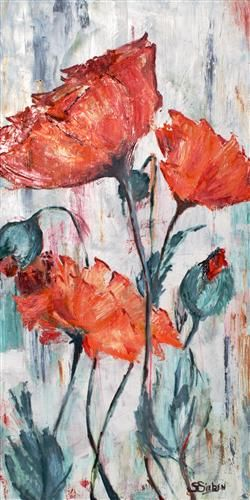 SHARON SIEBEN  Poppy Field, 2012