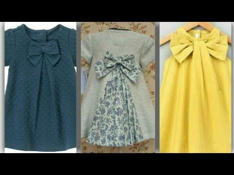 49a4c2419b7 ... stitch  casual Baby Dress Designs. baby summer frock design tutorial  easy to make at home latest design 2018 - YouTube