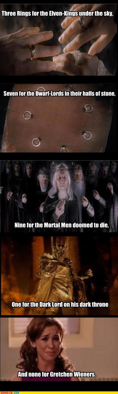 ((this makes me laugh every time)) Hah! That lady isn't awesome enough for a ring. |D (Sorry if that sounded mean! ;A; )
