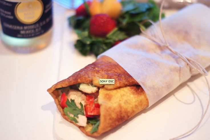 Low Carb Kyllingwrap