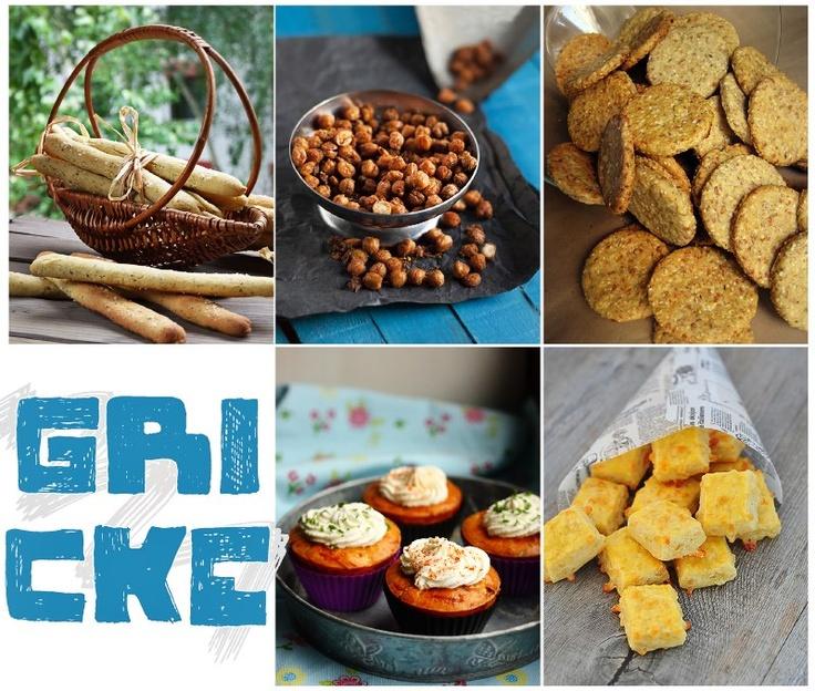 Da li volite da grickate? Mi obožavamo, zato smo vam u aktuelnom broju pripremili naše omiljene grickalice. Recepte možete pronaći na str. 11-21.    http://mezze.rs/exhibit/mart-2013/    * Grisini sa začinskim biljem, Hrskave leblebije, Integralni keks, Kapkejks sa ementalerom, Žu-žu sa kačkavaljem *: Mi Obožavamo, Food, Antička Namirnica, Naše Omiljene, Omiljene Grickalice, Pripremili Naše, Broju Pripremili