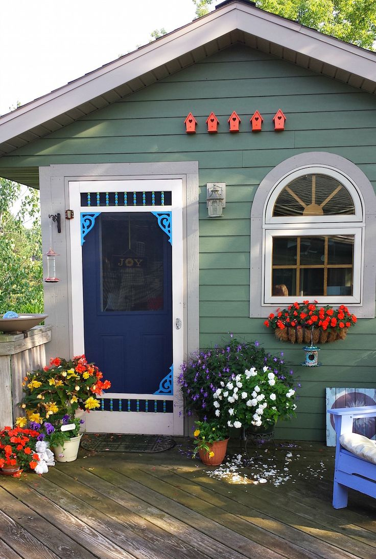 Ideas for painting your garden shed - 100 Ideas To Try About Garden Ideas Gardens Garden Statues And Sheds