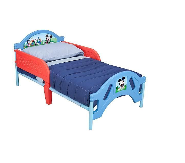 Disney Mickey Mouse Toddler Bed Crib Bed Frame Bedroom - Mattress Not Included #Disney $90 http://www.ebay.com/itm/Disney-Mickey-Mouse-Toddler-Bed-Crib-Bed-Frame-Bedroom-Mattress-Not-Included-/251821000593