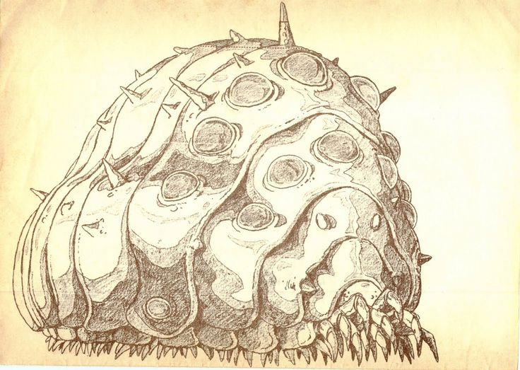 Nausicaa of the Valley of the Wind: Ohmu