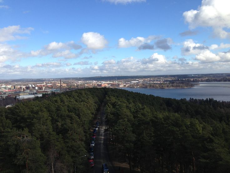 View of Tampere, Finland.  #Tampere #Finland