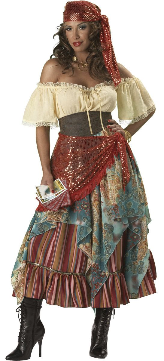 Fortune Teller Gypsy Costume