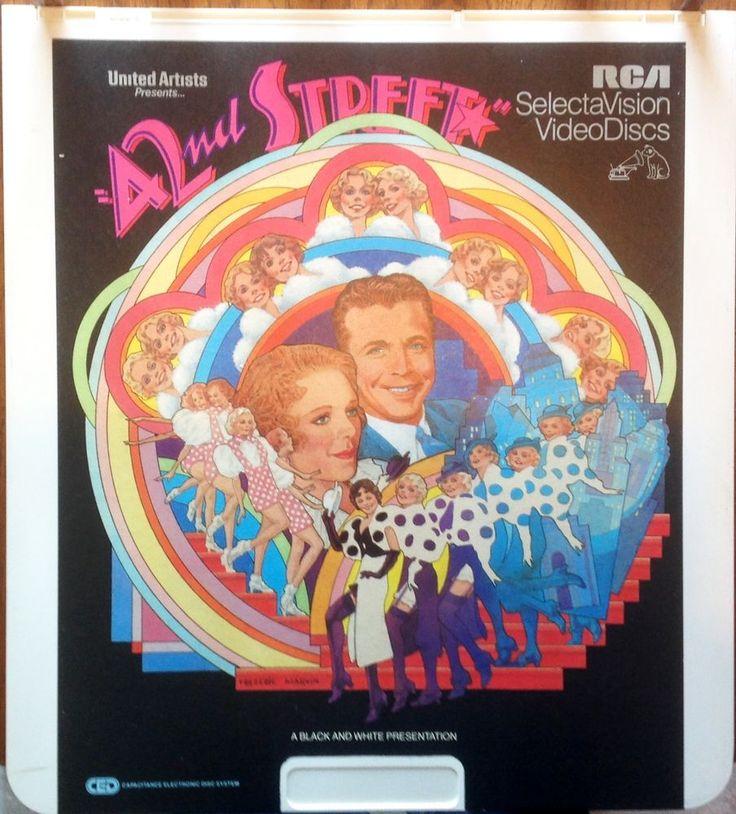 """42nd Street"" Video Disc CED Comedy Musical Romance EUC"