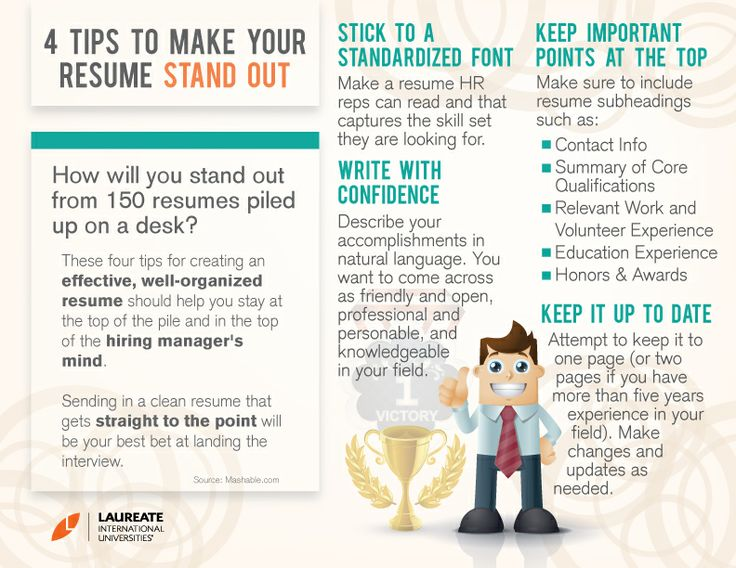 tips to make your resume stand out #Resume #ResumeTips #LifeHacks
