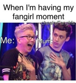 The struggles of a fangirl XD