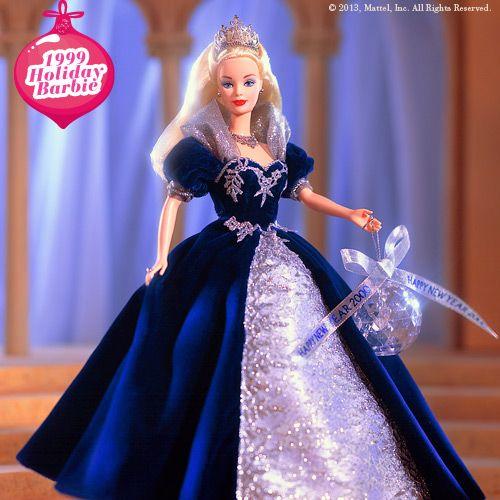 1999 Holiday Barbie #holidaybarbie