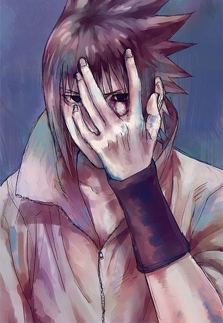 Imagen de fanart, naruto, and sasuke uchiha