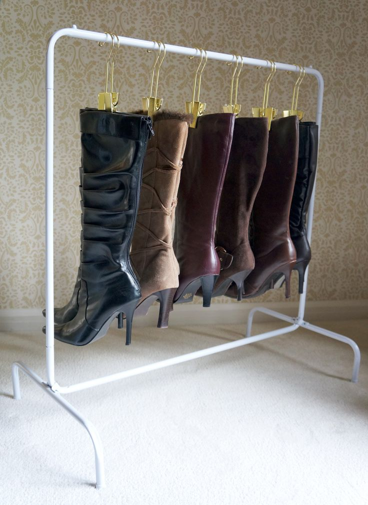 Store your boots with The Boot Rack
