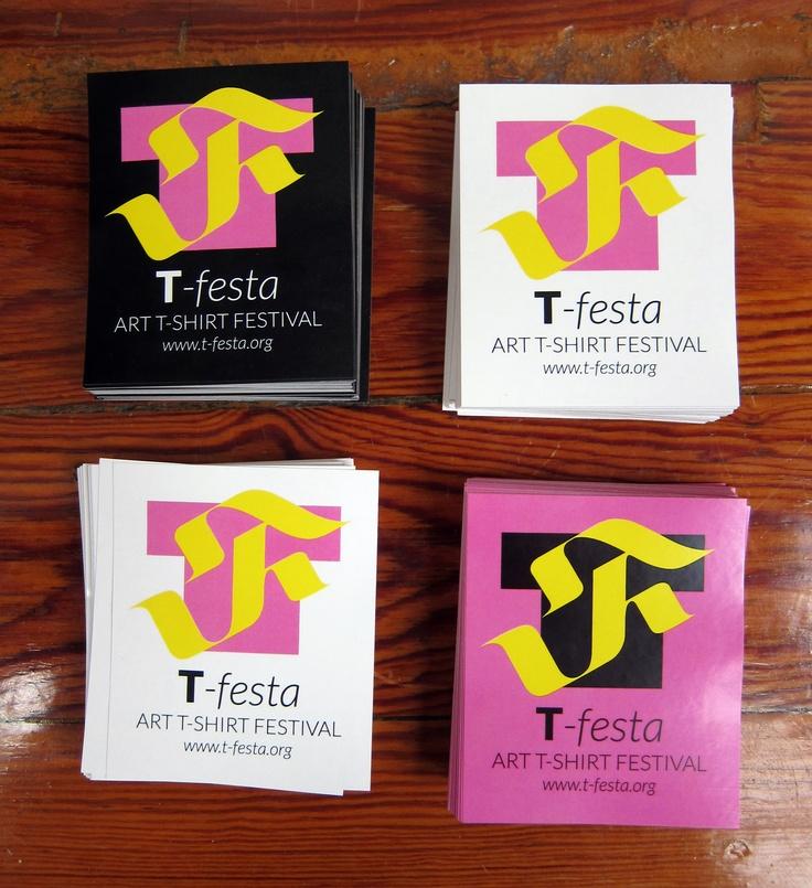 Pegatinas T-festa   #tfesta