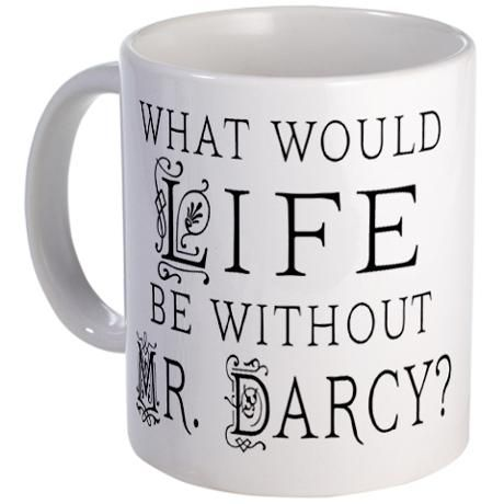 Love this Mr. Darcy Mug  - We can always dream of Mr. Darcy with our daily cuppa.