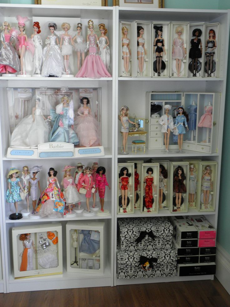 Barbie Bedroom In A Box: 137 Best Images About Barbie Displays On Pinterest