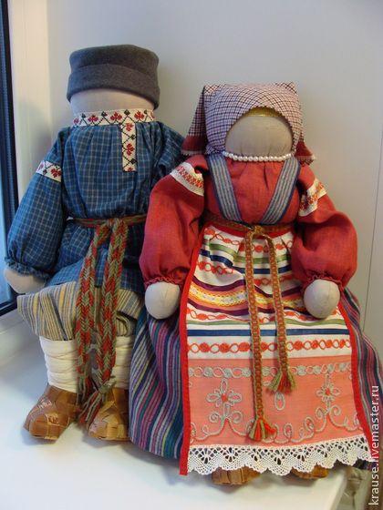 Народные куклы ручной работы. Ярмарка Мастеров - ручная работа Ванечка и Манечка 2. Handmade.