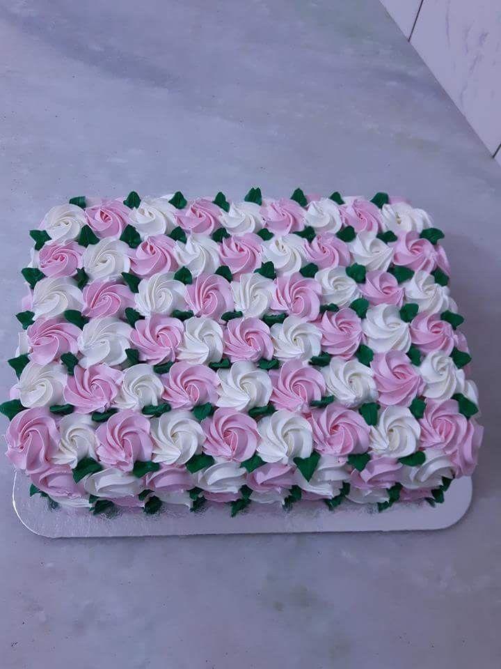 Flores Blancas Com Imagens Decoracao De Bolo Bolo Confeitado