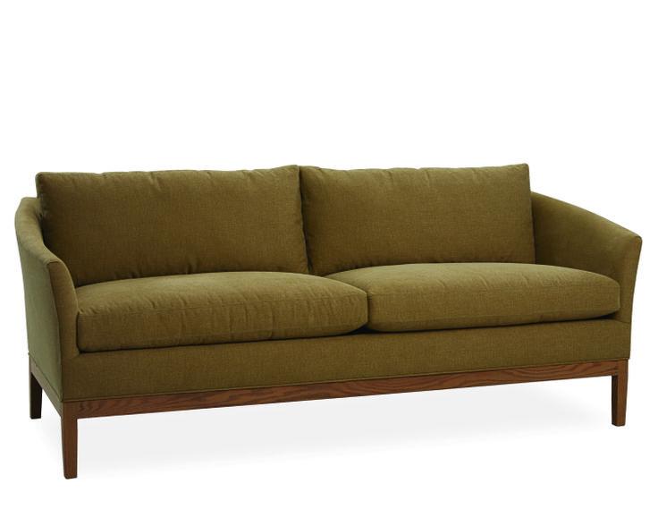 lee industries sofa in tote camel - Lee Industries Sofa
