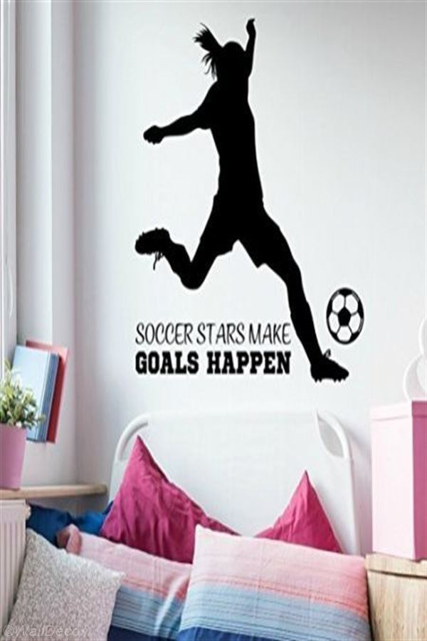 Wall Decoration Ideas For Your Living Room In 2020 Soccer Girl