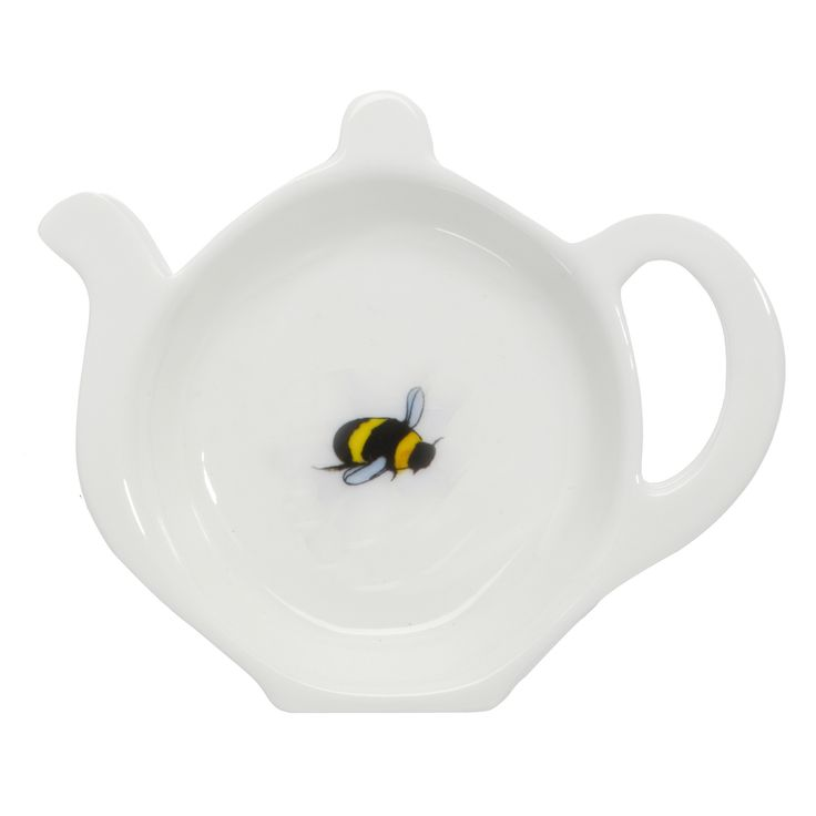 A Pretty Bee Fine Bone China Tea Bag Tidy Is The Perfect Kitchen Accessory For That Soggy Teabag