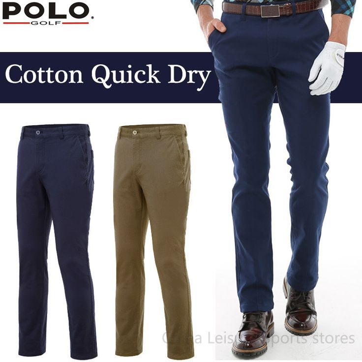 Brand POLO Men Golf Trousers Golf Pants Pantalon Para Golf Kleding Heren Broek Pantalon Golf Hombre Clothing Qucik Dry