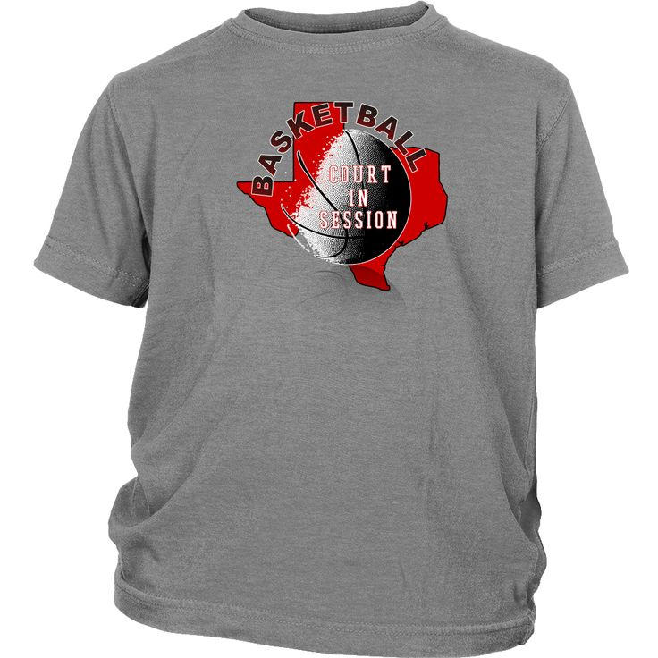 Texas Tech Basketball Court In Session Youth T-Shirt