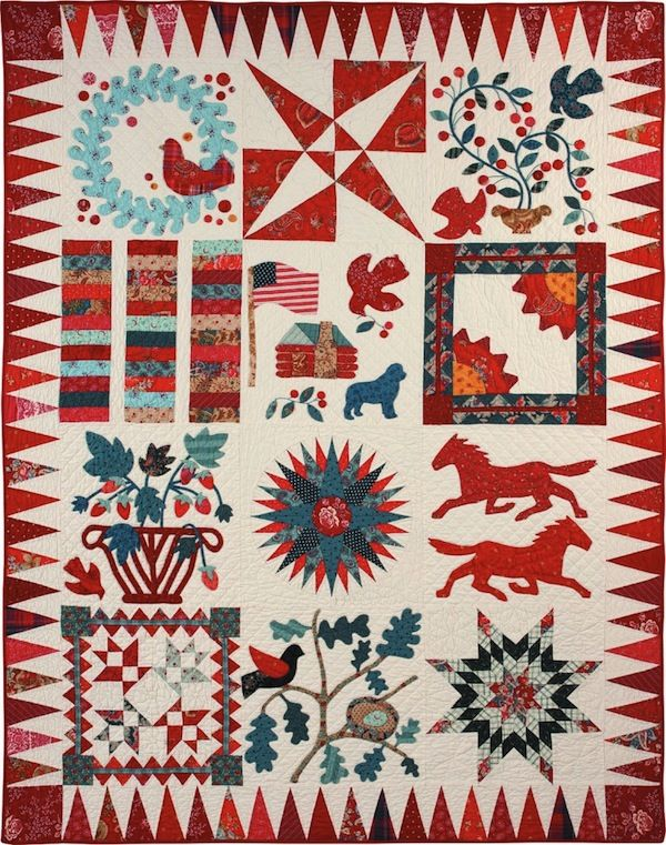 250 best American Nativ Quilts images on Pinterest | Beautiful ... : traditional american quilts - Adamdwight.com