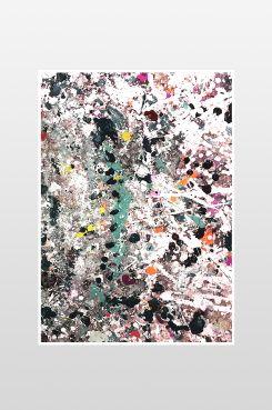 Ellos Home Poster Spray Poster 50x70 cm. Tryckt på 150 g silkepapper. <br><br>