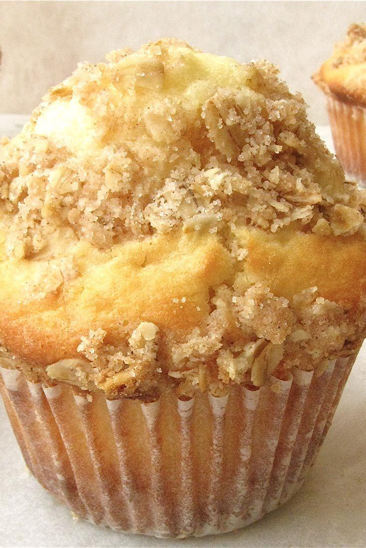 High-Fiber Fruit and Yogurt Muffins Recipe