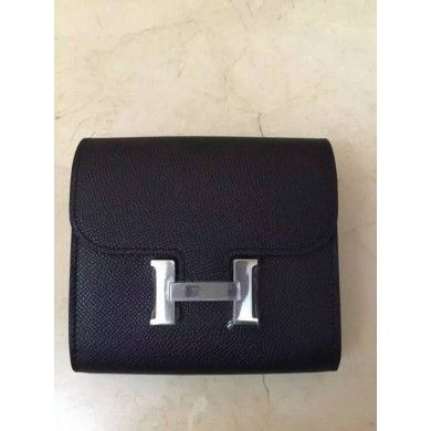Discounts Hermes Constance Compact Wallet on sale