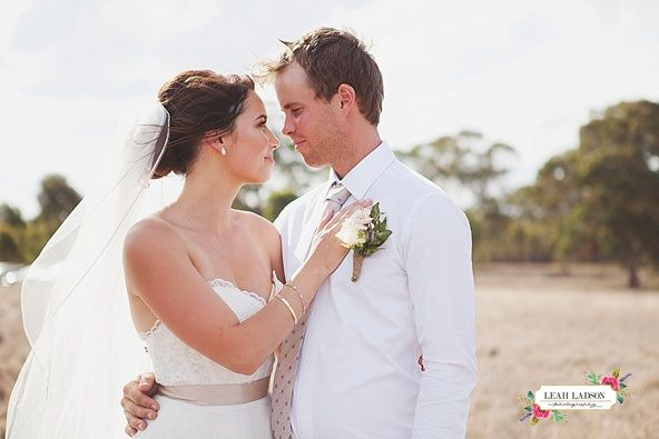 Beautiful Farm Wedding, Country Victoria wedding held in Rushworth.   #countrywedding #farmwedding #weddingphotos #weddingflowers #weddingispiration #bridalportraits  See more at www.leahladson.com