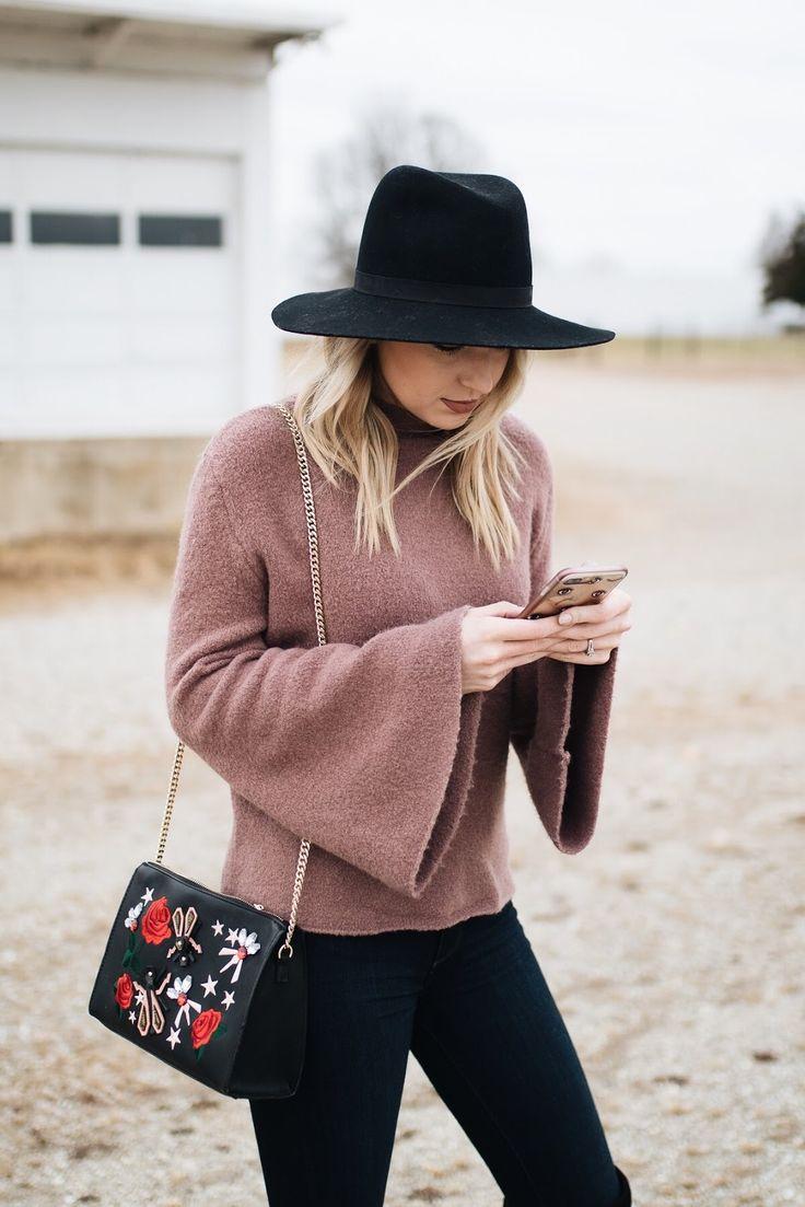 Bell sleeve sweater | Love, Lenore