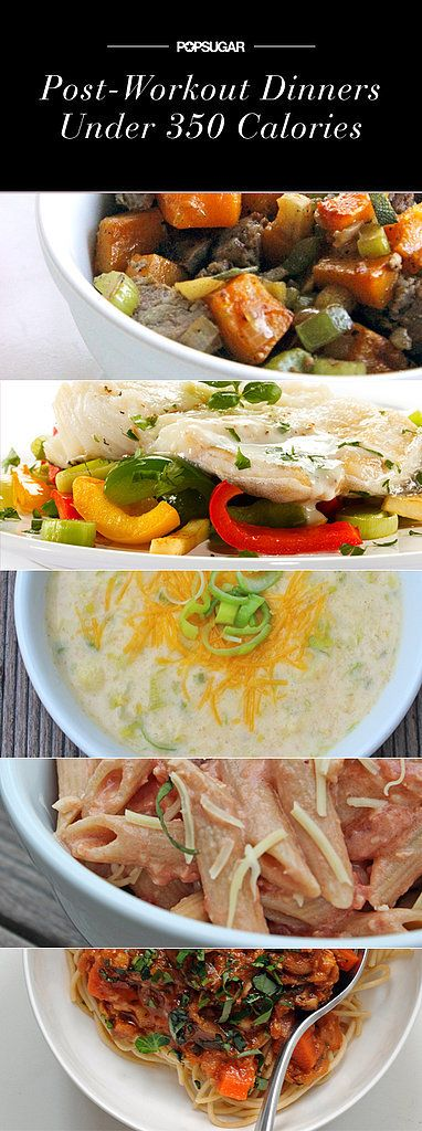 Perfect For Post-Workout: Quick Dinners at 350 Calories or Less