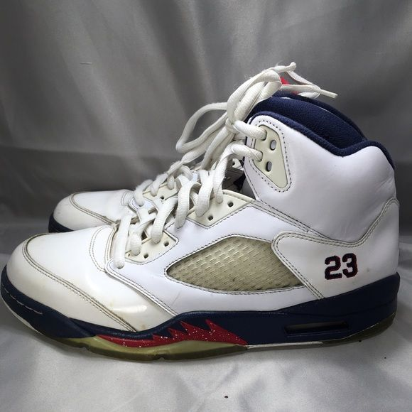 """Air Jordan V """"Independence Day"""" Sz 10.5 Air Jordan V in 8/10 condition Nike Shoes Sneakers"""