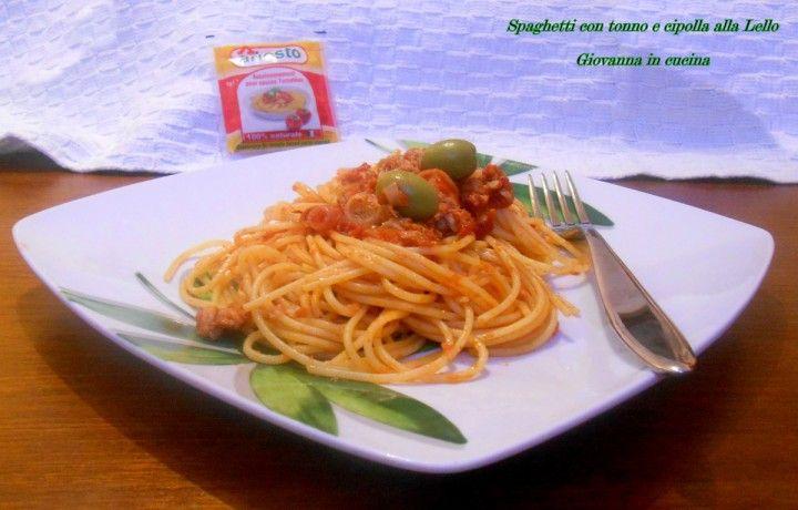 Spaghetti con tonno e cipolla alla Lello