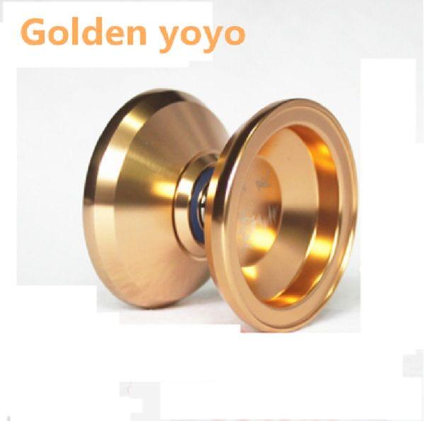 2016 hot sale Luminous shinning YoYo toy Ball Magic yoyo ball bearing yoyo diabolo bearing metal aviation gifts Titanium yoyo(China (Mainland))