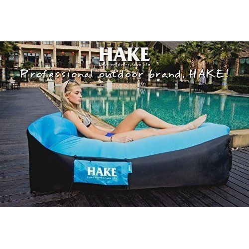 Inflatable Lounger Air Sofa Chair Waterproof Pool Swimming Camping Hiking Beach  #InflatableLounger