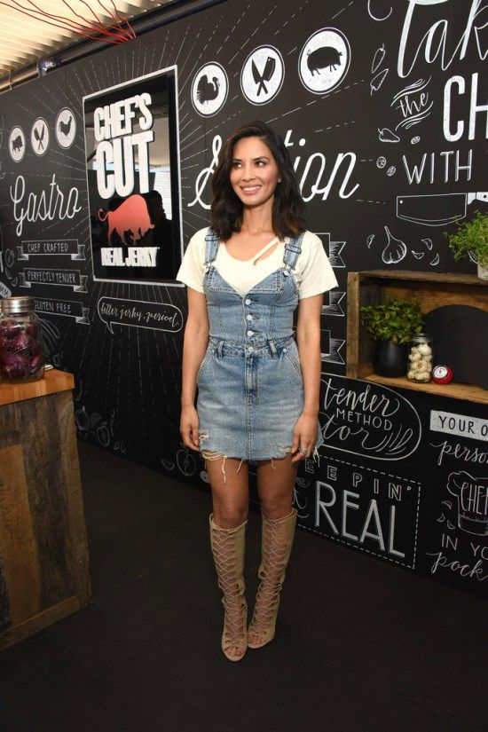 Olivia Munn Hosts the Chefs Cut Real Jerky Event to Celebrate National Jerky Day