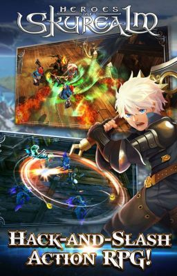 #wattpad #action Heroes of Skyrealm is a team-based mobile game that combines the action of a hack and slash RPG with battle strategy of an RTS.  http://bit.ly/HeroesofSkyrealmHack Summon over 30 legendary Heroes, each with unique abilities and play styles. Use powerful attack or support spells, blast your foes fro...