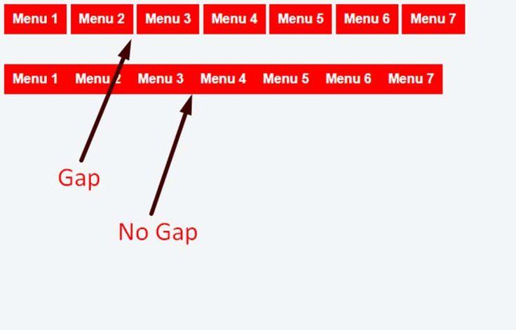 Menghilangkan Gap Dari Element Dengan Display: Inline-block