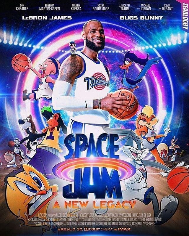 """LeBron James 👑 on Instagram: """"Do you expect this to be an entertaining  movie? 📽🤷🏾♂️"""" 