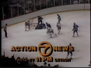 Bumper card | 11 PM Action News (WXYZ-TV 7 Detroit; February 2, 1983)