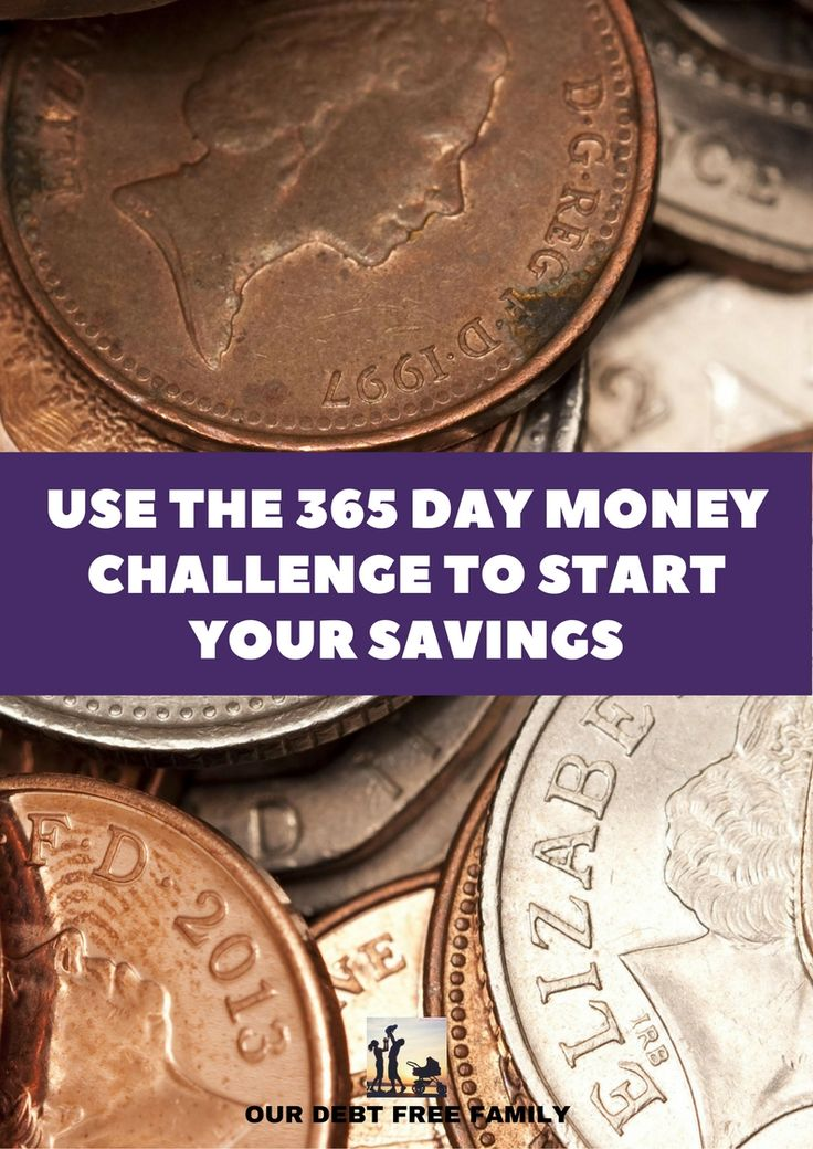 USE THE 365 DAY MONEY CHALLENGE TO START YOUR SAVINGS