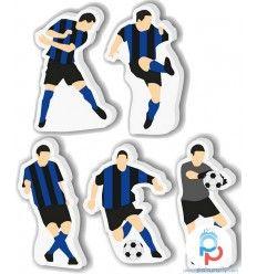 Candelina compleanno 5 giocatori Inter